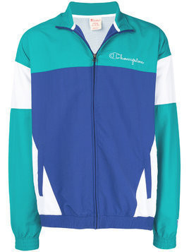 Champion colour-block track jacket - Blue
