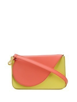 Giancarlo Petriglia foldover top clutch - Yellow