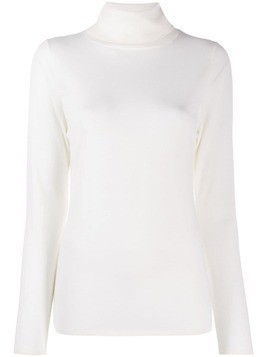 Allude roll neck jumper - Neutrals