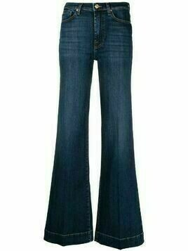 7 For All Mankind high-waisted flared leg jeans - Blue