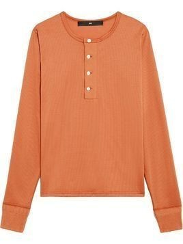 Mackintosh 0003 Amber Cotton 0003 Henley Shirt - NEUTRALS