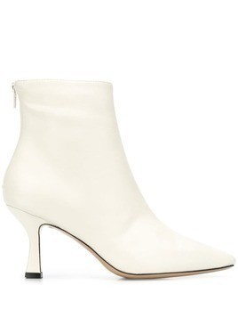 Fabio Rusconi heeled ankle boots - White