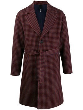 Hevo double breasted coat - Red