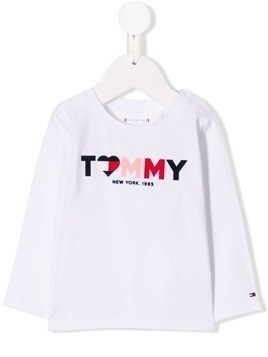 Tommy Hilfiger Junior logo T-shirt - White