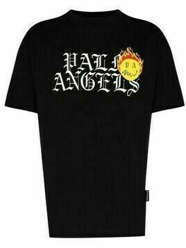 Palm Angels Burning Head logo print T-shirt - Black