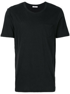 Fashion Clinic Timeless patch pocket T-shirt - Black