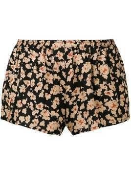 Love Stories floral print shorts - Neutrals