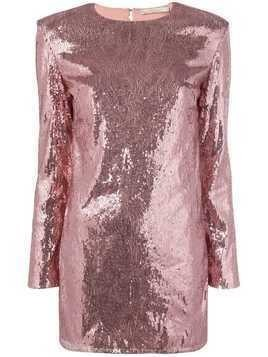 Amen sequinned mini dress - Pink