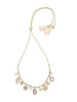 Marchesa Notte pendant necklace - Yellow