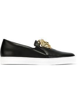 Versace Medusa slip-on sneakers - Black