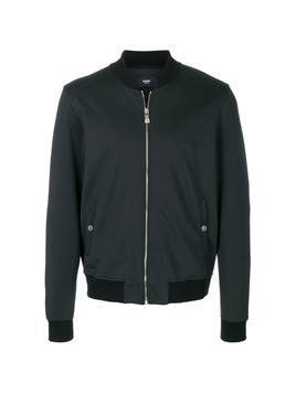 Versus zip up bomber jacket - Black