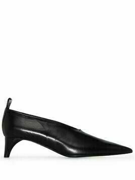 Jil Sander pointed-toe 45mm pumps - Black