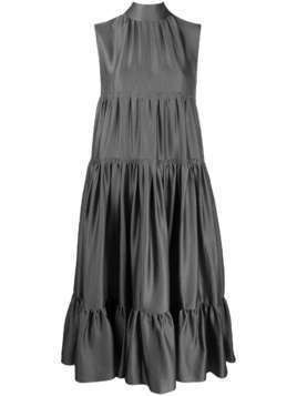 Rochas sleeveless shift dress - Grey