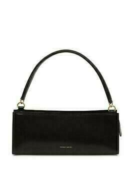 Mansur Gavriel Pencil Case leather bag - Black