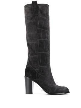 Strategia A4375 knee length boots - Grey