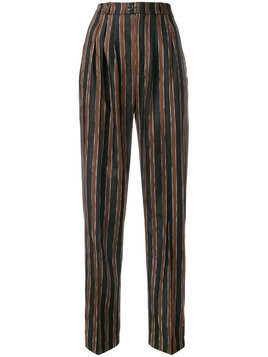 Golden Goose paisley caramel trousers - Black