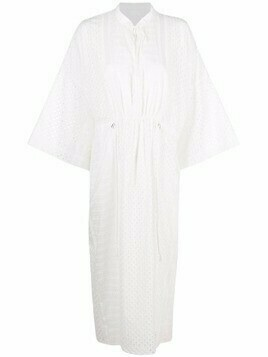 Lala Berlin Delias broderie-anglaise cotton dress - White