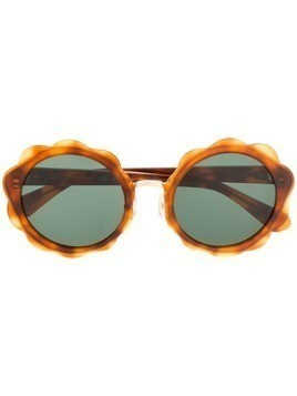 Kate Spade round sunglasses - Brown