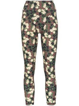 Adam Selman Sport Push It french cut leggings - Green