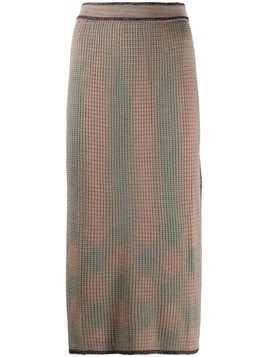 M Missoni ribbed-knit dress - Neutrals