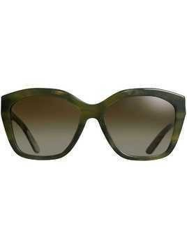 Burberry Square Frame Sunglasses - Green