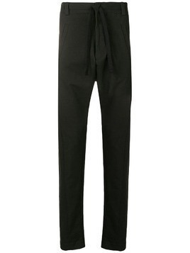 10Sei0otto ruched tailored trousers - Black