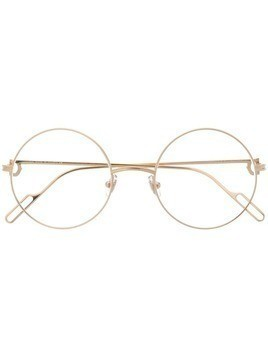 Cartier round framed glasses - Gold