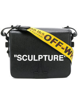 Off-White Sculpture printed satchel - Black