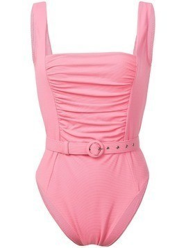 Nicholas ruched panel one piece - Pink