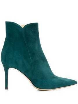 Fabio Rusconi heeled Nick boots - Blue