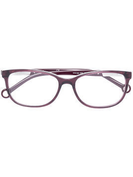 Ch Carolina Herrera rectangular shape glasses - PINK