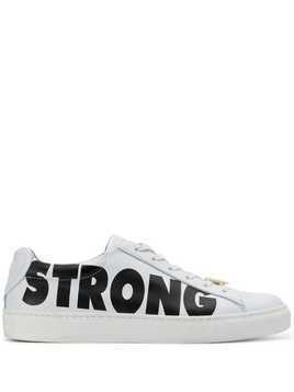 Escada Strong printed sneakers - White