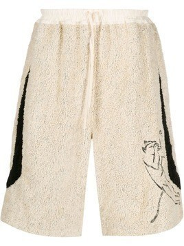 Camper Lab x Bernhard Willhelm drawstring shorts - NEUTRALS