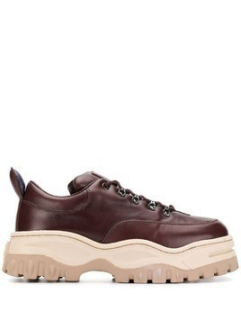 Eytys chunky platform sole sneakers - Brown