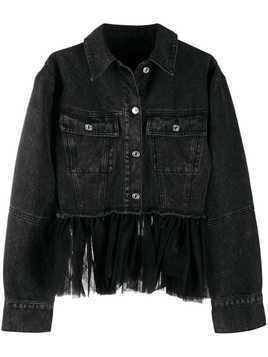 Brognano deconstructed denim jacket - Black