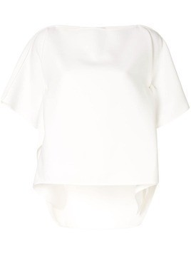 Maticevski square neck blouse - White