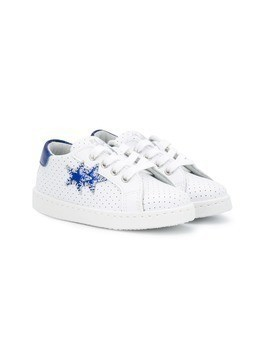 2 Star Kids star sneakers - White