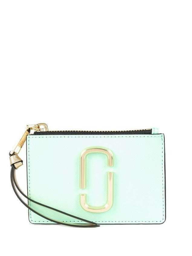 Marc Jacobs Snapshot compact wallet - Green