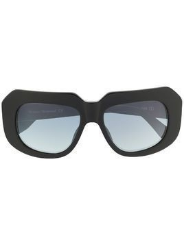 Vivienne Westwood abstract-frame sunglasses - Black