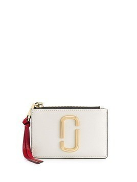 Marc Jacobs logo plaque purse - White