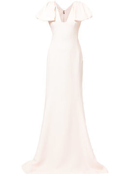 Antonio Berardi statement sleeve dress - 205