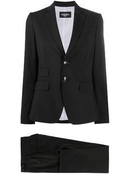 Dsquared2 tailored two-piece trouser suit - Black
