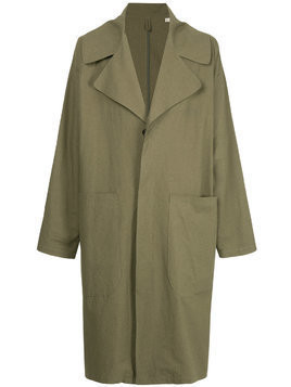 Kent & Curwen oversized trench coat - Green