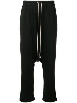 Rick Owens DRKSHDW cropped trousers - Blue