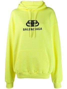 Balenciaga Back pulled hoodie - Yellow