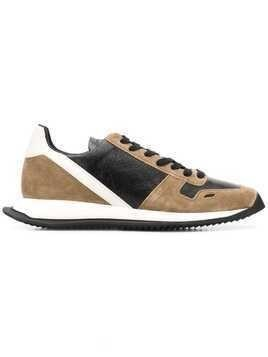 Rick Owens panelled low-top sneakers - Neutrals