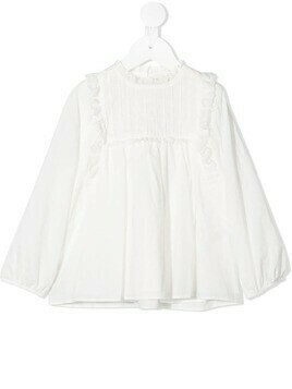 Marie-Chantal Farrow blouse - White