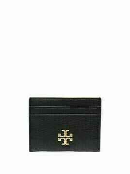 Tory Burch logo plaque cardholder - Black