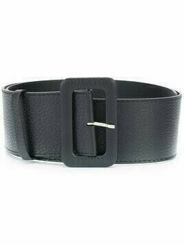 P.A.R.O.S.H. rectangular-buckle belt - Black