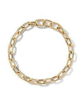 David Yurman 18kt yellow gold DY Madison 6mm bracelet - 88